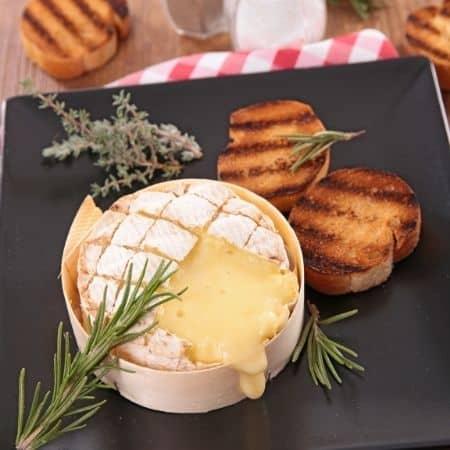 camembert-rôti-pain-recette-four